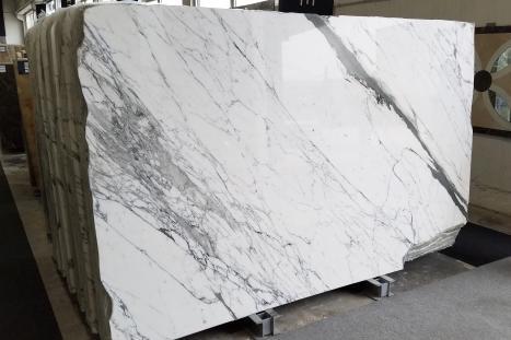 STATUARIO VENATOplancha mármol italiano pulido Slab #65,  297 x 183 x 2 cm piedra natural (disponible en Veneto, Italia)