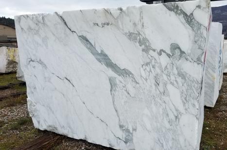 calacatta vagli 1 bloque mármol italiano a corte con diamante BL01,  300 x 200 x 180 cm piedra natural (disponible en Veneto, Italia)