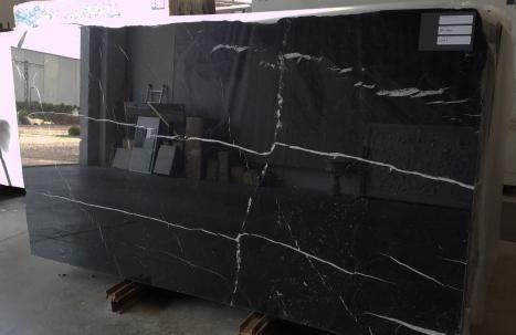 NERO MARQUINA 20 planchas mármol español pulido SL2CM,  287 x 150 x 2 cm piedra natural (disponibles en Veneto, Italia)