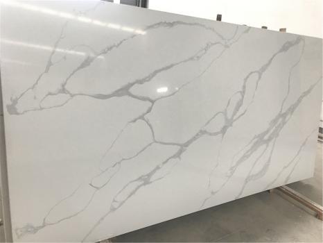 POMPEIplancha cuarzo de Vietnam pulido SL3CM,  320 x 160 x 3 cm piedra aglomerado artificial (disponible en Hai Phong, Vietnam)
