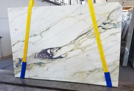 CALACATTA FIORITOplancha mármol italiano al corte Slab #08,  270 x 185 x 2 cm piedra natural (disponible en Veneto, Italia)