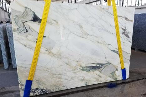CALACATTA FIORITOplancha mármol italiano al corte Slab #18,  270 x 185 x 2 cm piedra natural (disponible en Veneto, Italia)