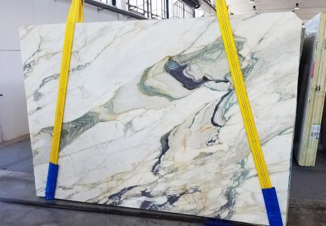 CALACATTA FIORITOplancha mármol italiano al corte Slab #25,  270 x 185 x 2 cm piedra natural (disponible en Veneto, Italia)