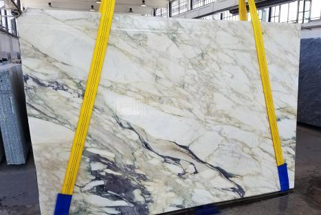 CALACATTA FIORITOplancha mármol italiano al corte Slab #34,  270 x 185 x 2 cm piedra natural (disponible en Veneto, Italia)