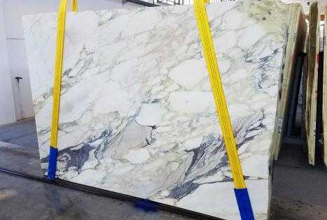 CALACATTA FIORITOplancha mármol italiano al corte Slab #42,  270 x 185 x 2 cm piedra natural (disponible en Veneto, Italia)