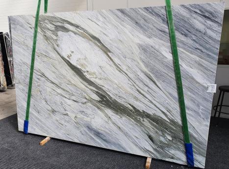 Manhattan Greyplancha mármol italiano pulido Slab #34,  305 x 202 x 2 cm piedra natural (disponible en Veneto, Italia)