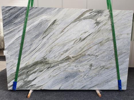 Manhattan Greyplancha mármol italiano pulido Slab #43,  305 x 202 x 2 cm piedra natural (disponible en Veneto, Italia)