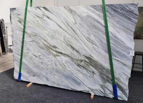 Manhattan Greyplancha mármol italiano pulido Slab #52,  305 x 202 x 2 cm piedra natural (disponible en Veneto, Italia)
