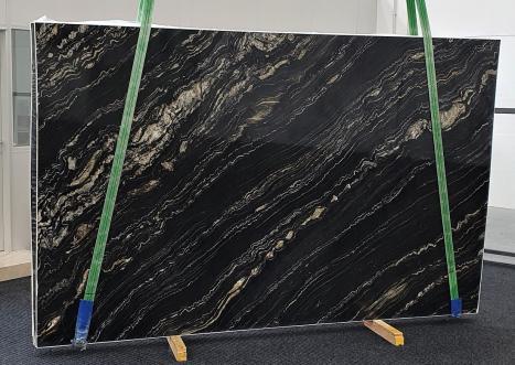 TROPICAL STORMplancha cuarcita de Namibia pulida Slab #02,  310 x 198 x 3 cm piedra natural (disponible en Veneto, Italia)