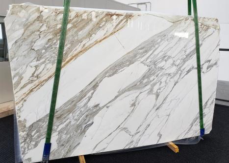 CALACATTAplancha mármol italiano pulido A - slab #01,  300 x 200 x 3 cm piedra natural (disponible en Veneto, Italia)