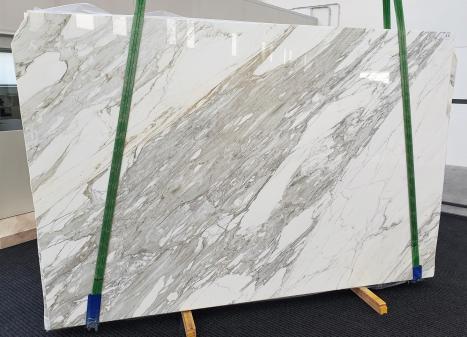 CALACATTAplancha mármol italiano pulido B - slab #11,  300 x 200 x 3 cm piedra natural (disponible en Veneto, Italia)