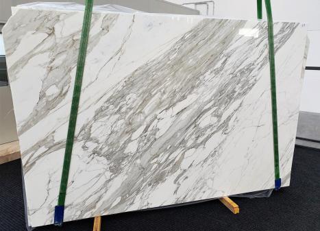 CALACATTAplancha mármol italiano pulido C - slab #17,  300 x 200 x 3 cm piedra natural (disponible en Veneto, Italia)