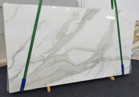 CALACATTA ORO EXTRAplancha mármol italiano pulido Slab #09,  350 x 200 x 2 cm piedra natural (disponible en Veneto, Italia)