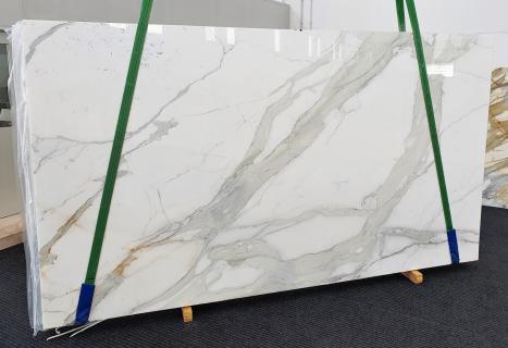 CALACATTA ORO EXTRAplancha mármol italiano pulido Slab #27,  350 x 200 x 2 cm piedra natural (disponible en Veneto, Italia)