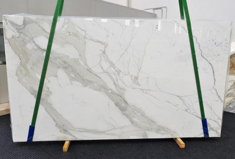CALACATTA ORO EXTRAplancha mármol italiano pulido Slab #54,  350 x 200 x 2 cm piedra natural (disponible en Veneto, Italia)