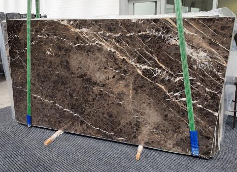 MARRON IRISplancha mármol español pulido Slab #10,  290 x 160 x 2 cm piedra natural (disponible en Veneto, Italia)