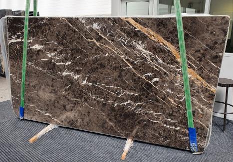 MARRON IRISplancha mármol español pulido Slab #26,  290 x 160 x 2 cm piedra natural (disponible en Veneto, Italia)