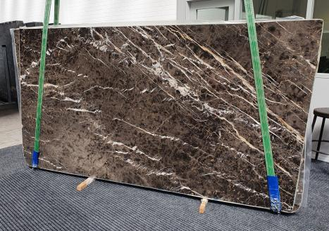 MARRON IRISplancha mármol español pulido Slab #34,  290 x 160 x 2 cm piedra natural (disponible en Veneto, Italia)