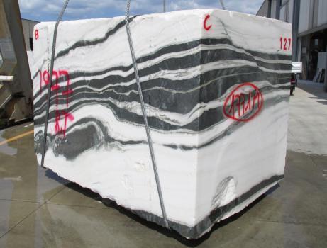 PANDA 1 bloque mármol chino áspero Face B,  260 x 184 x 190 cm piedra natural (disponible en Veneto, Italia)