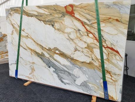 CALACATTA MACCHIAVECCHIAplancha mármol italiano pulido Slab #19,  300 x 195 x 2 cm piedra natural (disponible en Veneto, Italia)