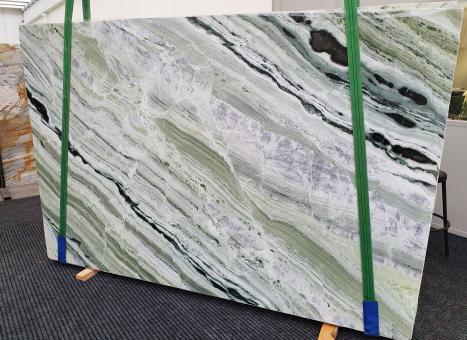 GREEN BEAUTYplancha mármol chino pulido Slab #01,  280 x 180 x 2 cm piedra natural (disponible en Veneto, Italia)