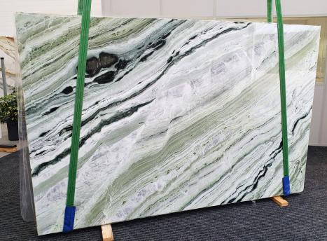 GREEN BEAUTYplancha mármol chino pulido Slab #20,  280 x 180 x 2 cm piedra natural (disponible en Veneto, Italia)