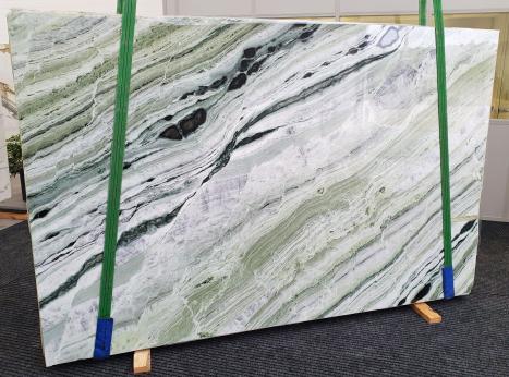 GREEN BEAUTYplancha mármol chino pulido Slab #30,  280 x 180 x 2 cm piedra natural (disponible en Veneto, Italia)