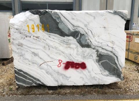 PANDA 1 bloque mármol chino áspero 103 x 67 x 33 ˮ piedra natural (vendido a Verona, Italia)