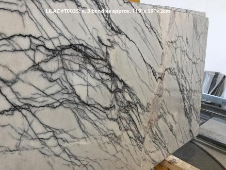 LILAC 30 planchas mármol turco mate 119 x 59 x 0.8 ˮ piedra natural (disponibles a Verona, Italia)