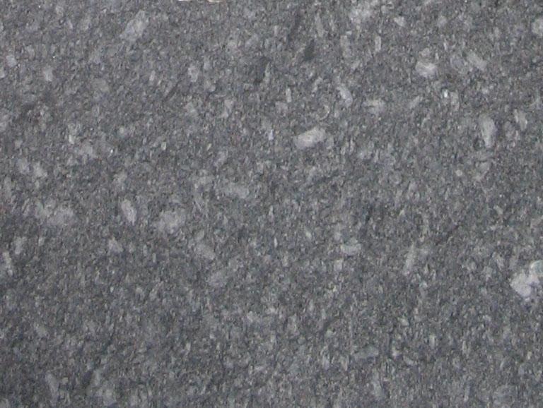 Detallo técnico: AZUL NOCHE, granito natural cepillado español