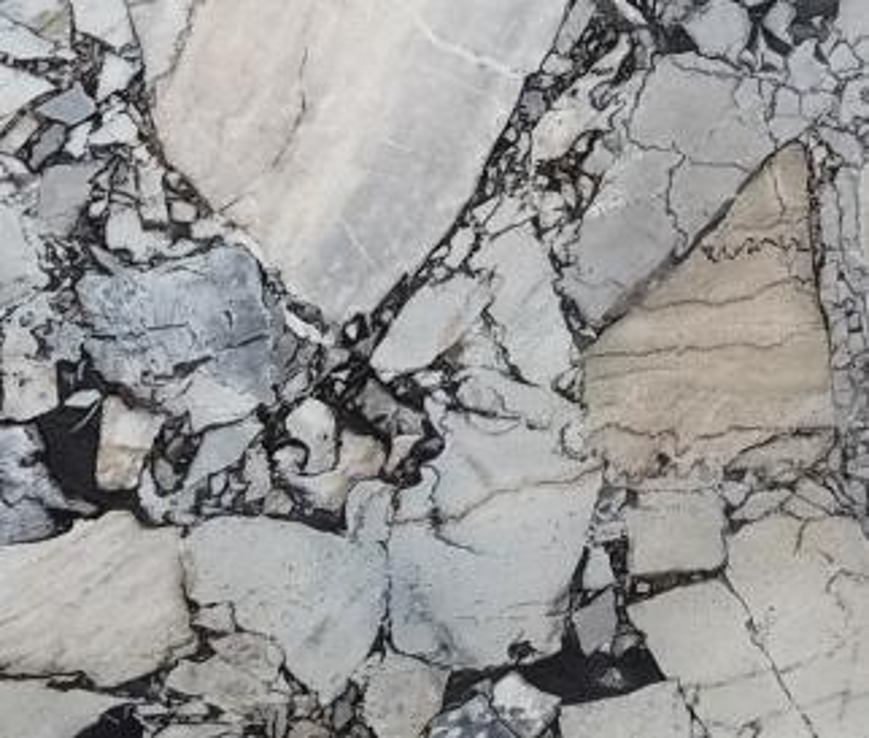 Detallo técnico: BEAUTY GREY, mármol natural pulido griego