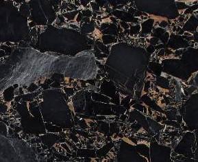 Detallo técnico: BRECCIA PORTORO, mármol natural pulido chino