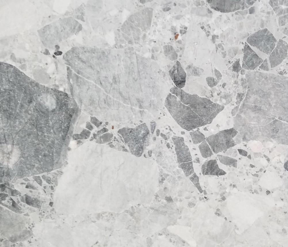 Detallo técnico: Babylon Grey, mármol natural mate de Macedonia