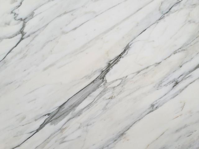 Detallo técnico: CALACATTA CARRARA, mármol natural mate italiano