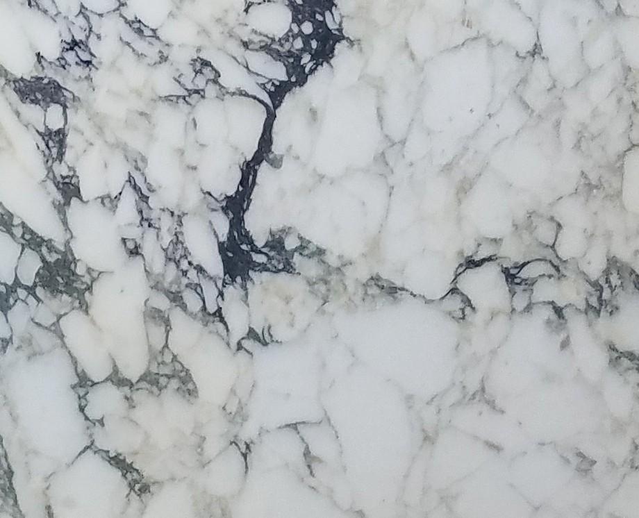 Detallo técnico: CALACATTA MONET, mármol natural al corte italiano