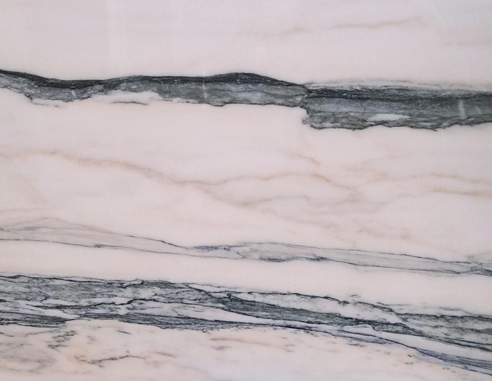 Detallo técnico: CALACATTA SAINT TROPEZ, mármol natural pulido portugués