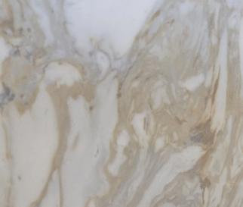 Detallo técnico: GOLDEN CALACATTA, mármol natural mate griego