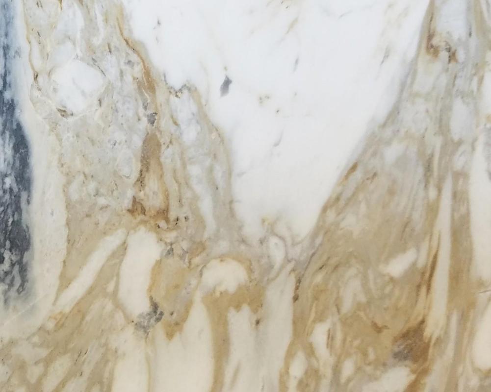Detallo técnico: GOLDEN CALACATTA, mármol natural pulido griego