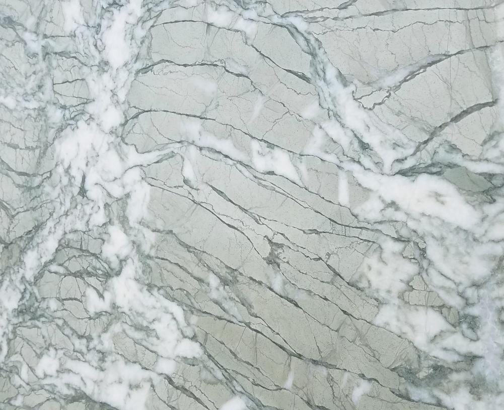 Detallo técnico: GREEN ANTIGUA, mármol natural mate iraní