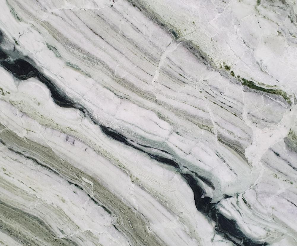 Detallo técnico: GREEN BEAUTY, mármol natural pulido chino