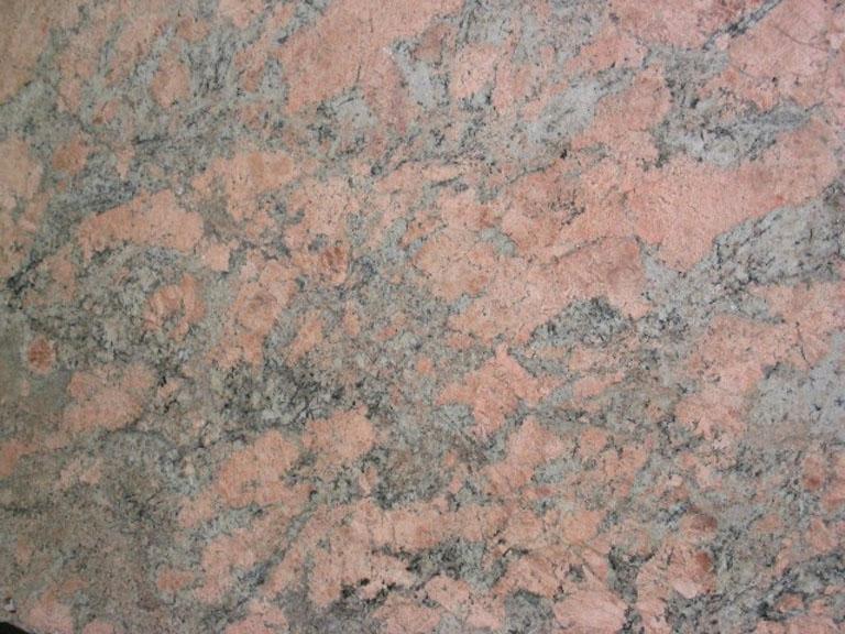 Detallo técnico: JUPARANA CLASSIC REAL, granito natural pulido brasileño