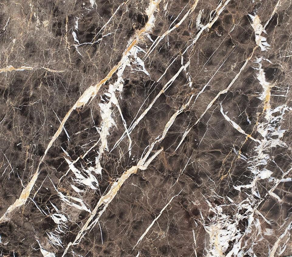 Detallo técnico: MARRON IRIS, mármol natural pulido español