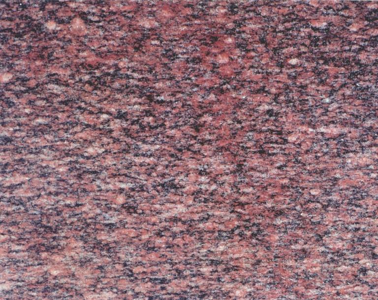 Detallo técnico: SESAME RED, granito natural pulido chino