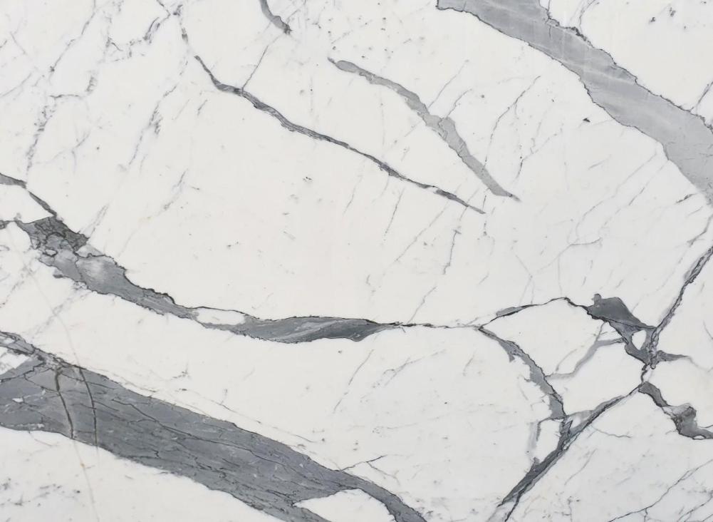 Detallo técnico: STATUARIO EXTRA, mármol natural pulido italiano