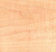 Detallo técnico: Maple Curly Arce Curly, arce esencia pulido americano