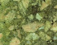 Detallo técnico: GREEN MARINACE, brecha natural pulida brasileña