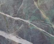 Detallo técnico: AMAZZONITE CRISTALLO, cuarcita natural a corte con diamante brasileña