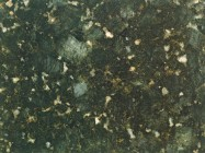 Detallo técnico: BUTTERFLY GREEN, granito natural mate brasileño