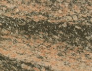 Detallo técnico: JUPARANA CORAL, granito natural pulido brasileño