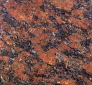 Detallo técnico: RUBY BLUE, granito natural pulido indiano